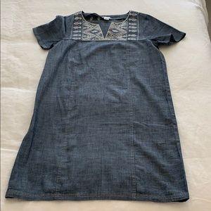 Jcrew denim dress